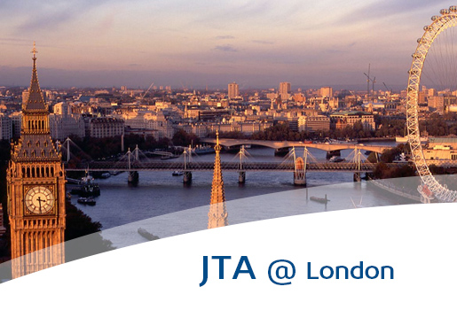 jta in intro at london