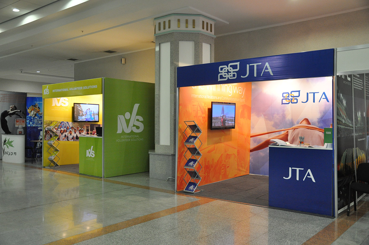 JTA exhibition stand