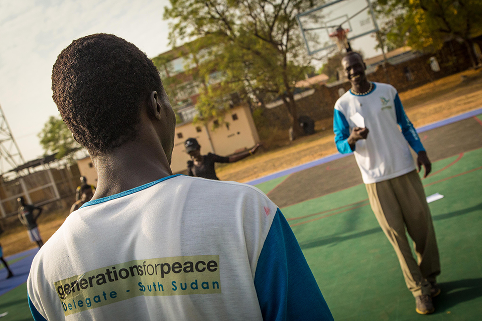 Generations For Peace Delegates in Juba South Sudan.